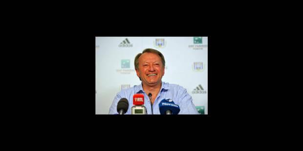 Ariel Jacobs confirmé au poste d'entraîneur d'Anderlecht - La Libre