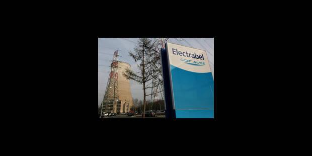 Electrabel a bénéficié d'un taux d'imposition de 4,33% en 2010 - La Libre