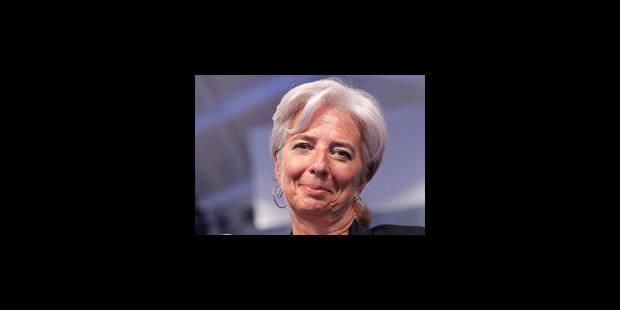 FMI: Lagarde toujours favorite, le calendrier judiciaire se précise - La Libre