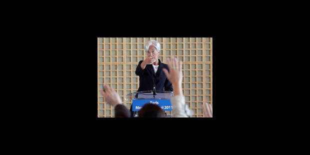 FMI : Paris joue, et risque, la carte Lagarde - La Libre