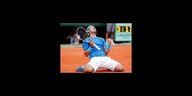 Nadal s'offre une sixième finale à Roland Garros pour son anniversaire - La Libre