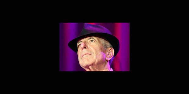 Leonard Cohen remporte le prix Prince des Asturies des lettres - La Libre