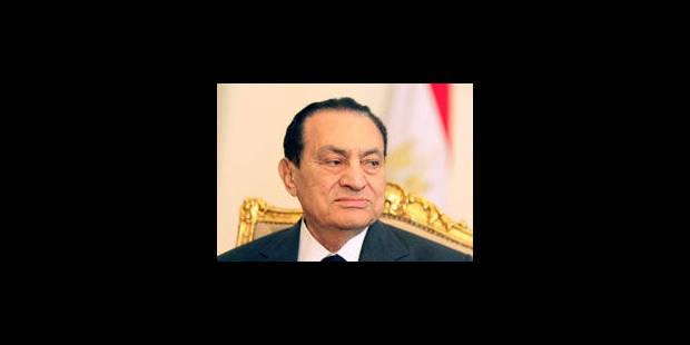 La santé de Moubarak ne permet pas encore son transfert en prison - La Libre