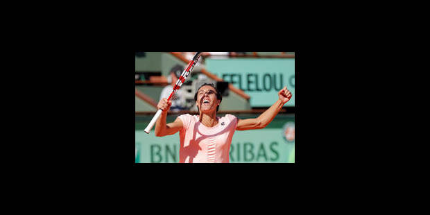 Francesca Schiavone rejoint Li Na en finale de Roland-Garros - La Libre