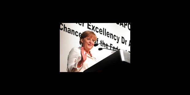 """Merkel encourage les émergents à être """"objectifs"""" face à Lagarde - La Libre"""