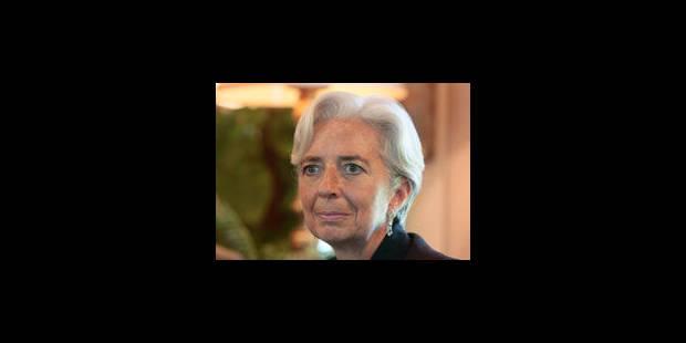 Lagarde critiquée par ses rivaux - La Libre