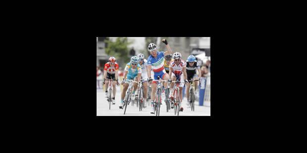 5e étape: Kern en vainqueur, Voeckler en protecteur - La Libre