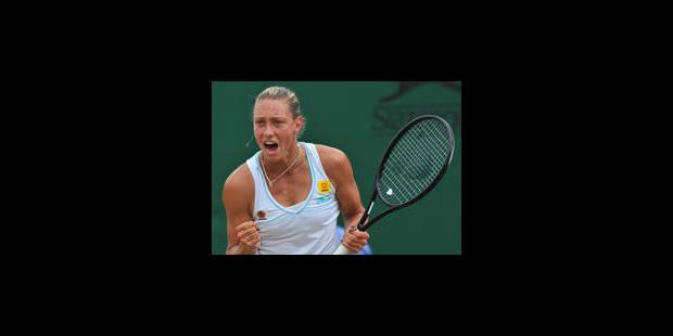 Wickmayer bat Kuznetsova et affrontera Kvitova en 1/8e - La Libre
