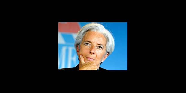 Christine Lagarde passe son grand oral au FMI jeudi - La Libre