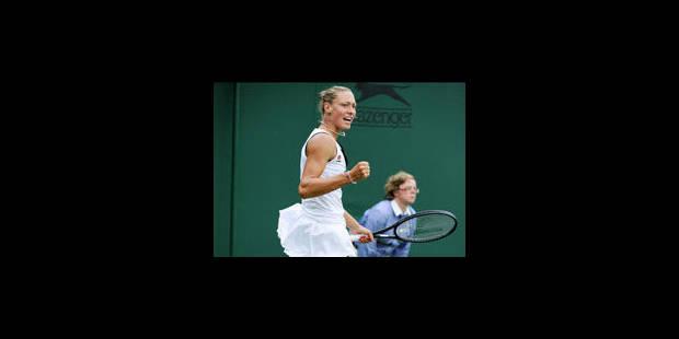 Yanina Wickmayer bat Anna Tatishvili