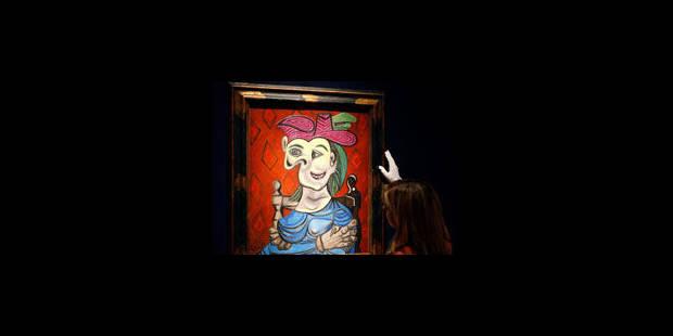 Trois Picasso partent pour 48 millions d'euros chez Christie's à Londres - La Libre