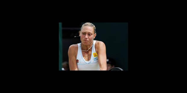 Wickmayer balayée en 45 min par Kvitova - La Libre