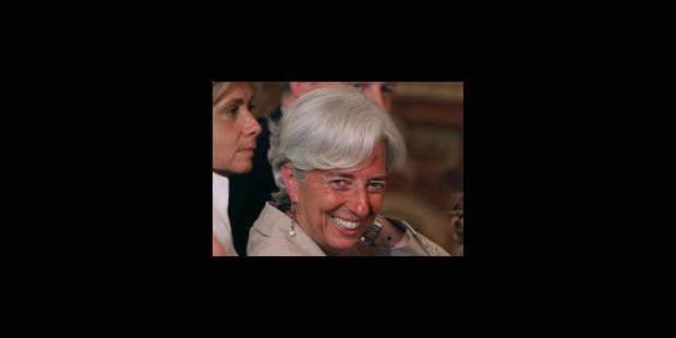 Christine Lagarde: une aura internationale acquise avec la crise - La Libre