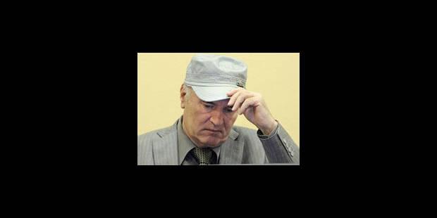 Ratko Mladic pour la deuxième fois devant les juges du TPIY lundi - La Libre