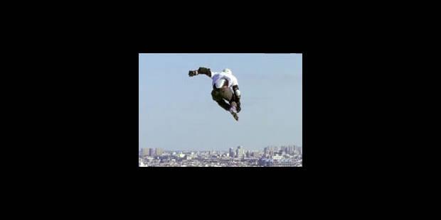 Un saut en roller de 29 mètres, un record - La Libre