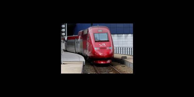 La circulation des Thalys Paris/Bruxelles perturbée - La Libre
