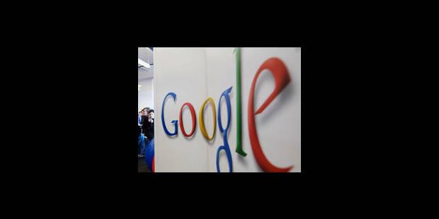 La réaction du groupe Rossel à Google - La Libre