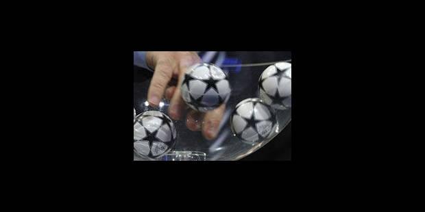 Champion's League : le Standard contre Zurich, Genk opposé au Partizan