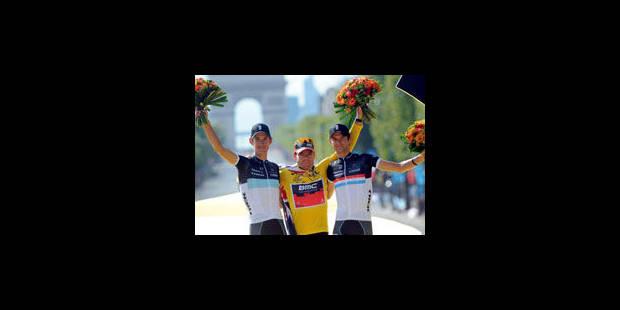 L'étape et le vert pour Cavendish, Evans remporte son premier Tour - La Libre