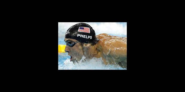 Phelps, champion du monde pour la 23e fois - La Libre