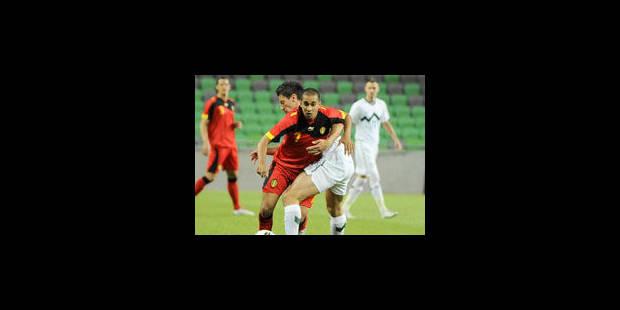 Bon match nul des Diables Rouges en Slovénie - La Libre