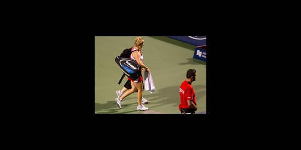 Retour manqué pour Kim Clijsters - La Libre