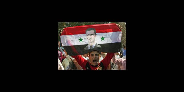 Assad annonce la fin des opérations militaires - La Libre