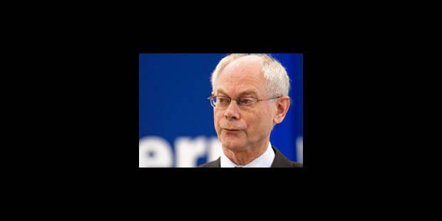 Van Rompuy: président de la zone euro? Je fais déjà ce boulot - La Libre