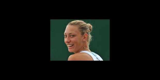 Yanina Wickmayer, blessée au dos, abandonne - La Libre
