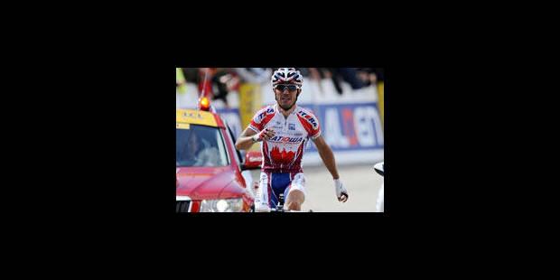 Vuelta - La 5e étape pour Joaquin Rodriguez, Jurgen Van den Broeck, 9e - La Libre