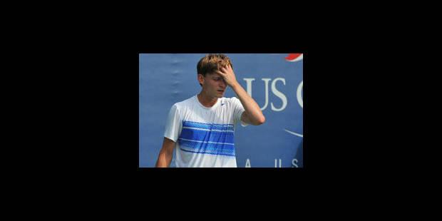 David Goffin sorti au 3e tour des qualifications de l'US Open - La Libre
