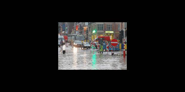 Lents investissements dans les bassins d'orage - La Libre