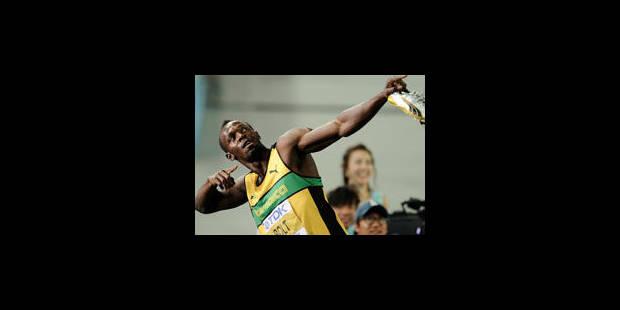 200m : Usain Bolt est bien le maître - La Libre