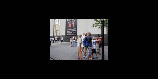 """New York construit """"une minute de silence"""" - La Libre"""