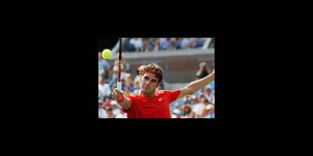 US Open - 3e tour: Roger Federer cède son premier set - La Libre