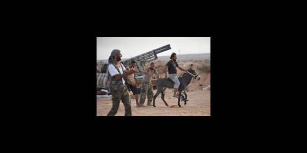 Les combattants du CNT seraient entrés dans Syrte - La Libre