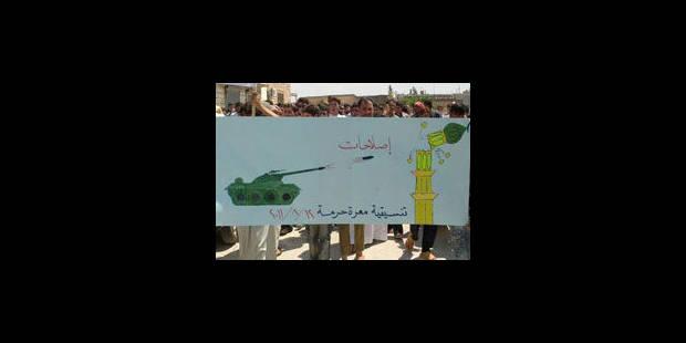 Syrie: 10 personnes tuées par les services de sécurité - La Libre