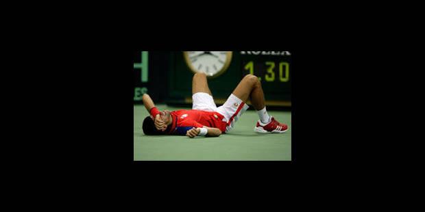 Djokovic abandonne: la Serbie éliminée en 1/2 finale - La Libre