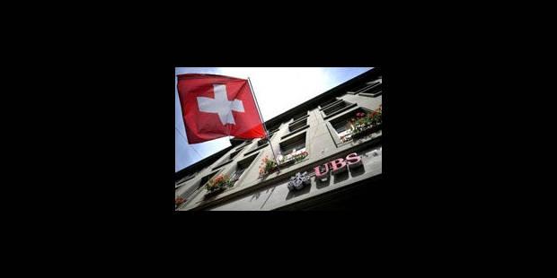 UBS: perte potentielle révisée à 2,3 milliards de dollars - La Libre