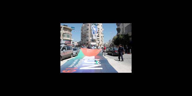 Des milliers de Palestiniens manifestent pour un Etat - La Libre