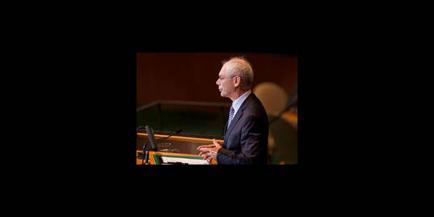 Van Rompuy appelle Israéliens et Palestiniens à reprendre les négociations - La Libre