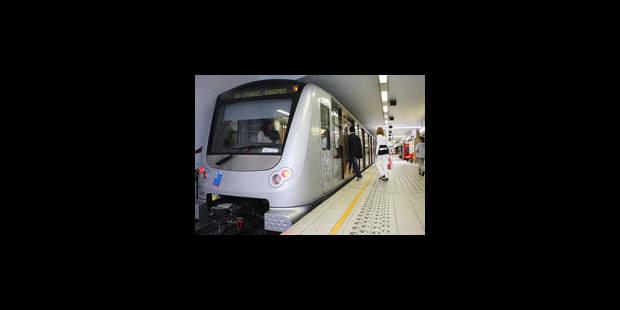 La circulation des métros perturbée dimanche - La Libre