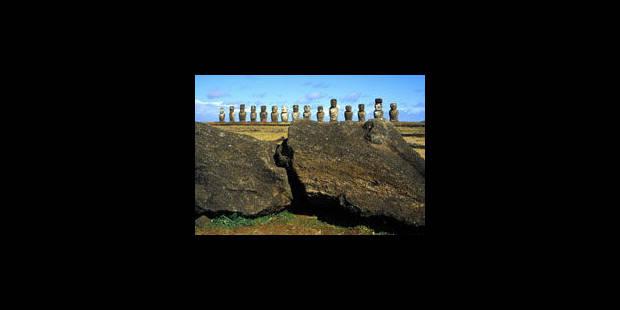 """Île de Pâques: """"Une œuvre humaine étonnante"""""""