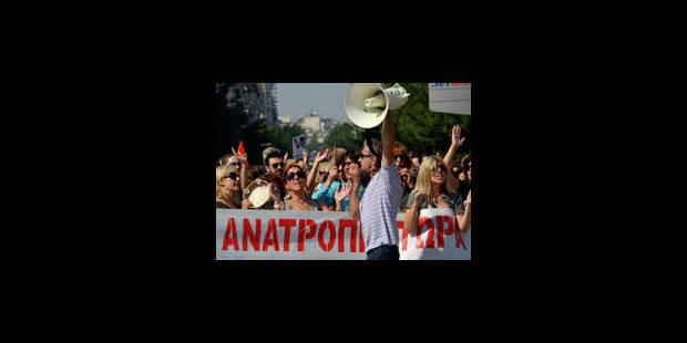 La Grèce dit non à l'austérité - La Libre