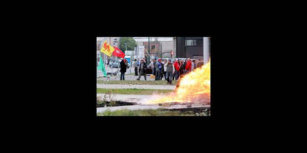 Poursuite de la grève chez ArcelorMittal à Liège - La Libre
