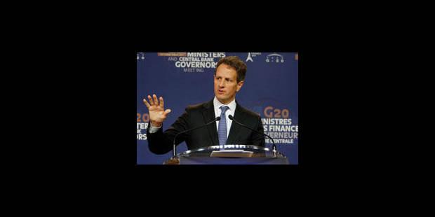 """Geithner: le plan européen a des éléments """"appropriés"""" - La Libre"""
