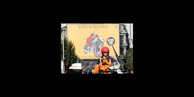 Tintin fait la fierté des Bruxellois - La Libre