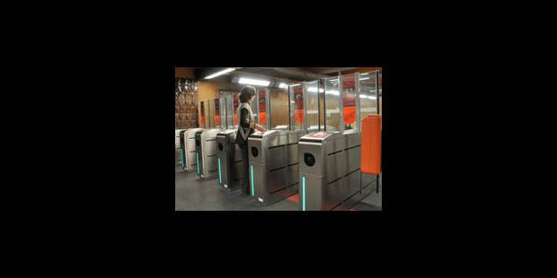 Portiques dans le métro: moins de vandalisme et plus de revenus - La Libre