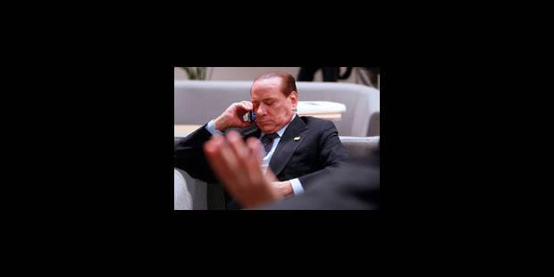 Berlusconi dément des rumeurs de démission - La Libre