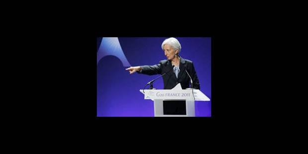 """Le FMI appelle à une """"clarification politique"""" en Grèce et en Italie - La Libre"""